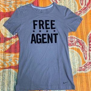 Nike Free Agent T-Shirt Size Medium